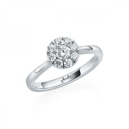 Steinberg Solitaire Ring
